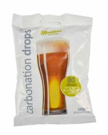 Muntons Carbonation drops 80stk 160g