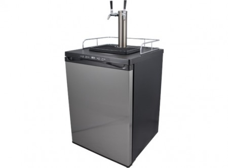 Keg Master kegerator med 2 Intertap SS (stainless steel)