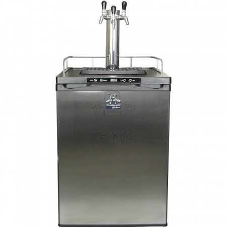 Keg Master kegerator med 3 Intertap SS (stainless steel)